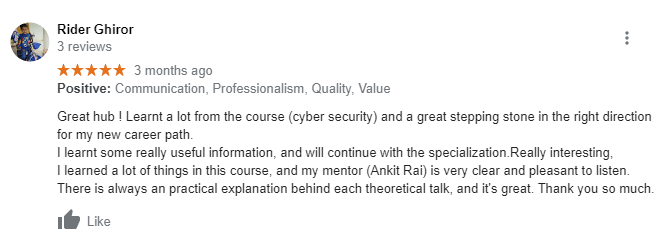 craw cyber Security Reviews