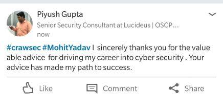 Piyush-Craw-Cyber-Security-Review
