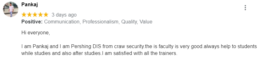 craw security review